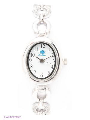 Часы Art Silver. Цвет: серебристый