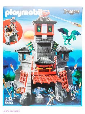 Игровой набор Секретный форт Дракона Playmobil. Цвет: серый, красный, синий