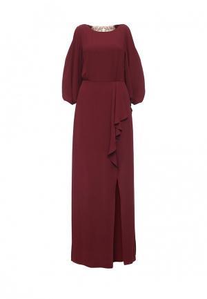 Платье BCBGMAXAZRIA. Цвет: бордовый