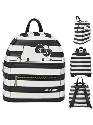 Рюкзак-мини HELLO KITTY Action!. Цвет: черный, белый