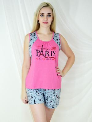Пижама Miata. Цвет: розовый, серый