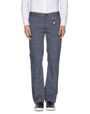 Повседневные брюки JOE RIVETTO. Цвет: лазурный