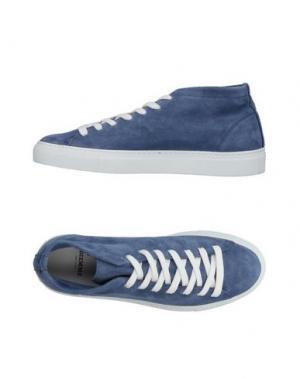 Высокие кеды и кроссовки DIEMME. Цвет: синий