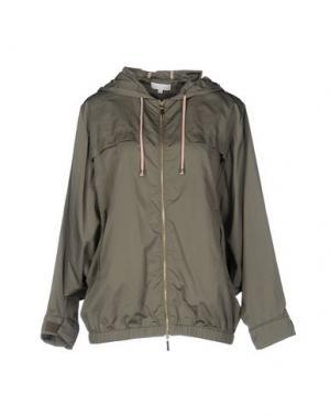 Куртка INTROPIA. Цвет: зеленый-милитари
