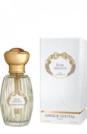 Парфюмерная вода Rose Absolue Annick Goutal. Цвет: бесцветный