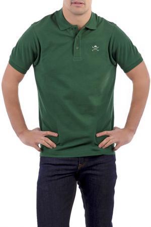 Поло POLO CLUB С.H.A.. Цвет: зеленый
