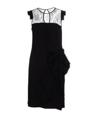Короткое платье E-GÓ. Цвет: черный