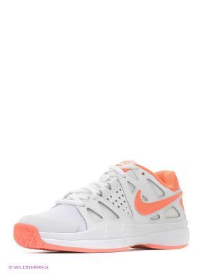 Кроссовки WMNS AIR VAPOR ADVANTAGE Nike. Цвет: белый, оранжевый