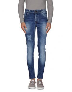 Джинсовые брюки S_D SIDE. Цвет: синий