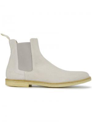 Классические ботинки Челси Common Projects. Цвет: серый