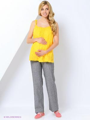 Брюки для беременных impressmama. Цвет: серый