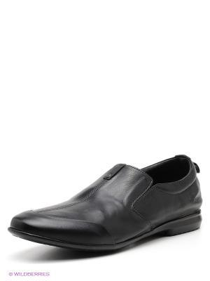 Туфли METROPOLPOLIS. Цвет: черный