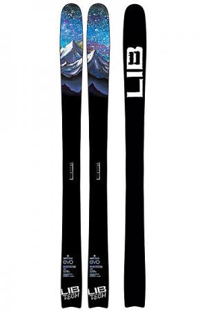 Горные лыжи  WUNDERSTIK Black Lib Tech. Цвет: черный
