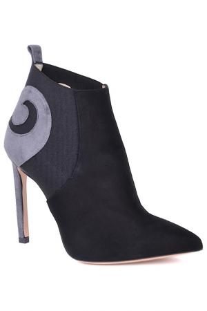 Ankle boots Marco Barbabella. Цвет: black and gray