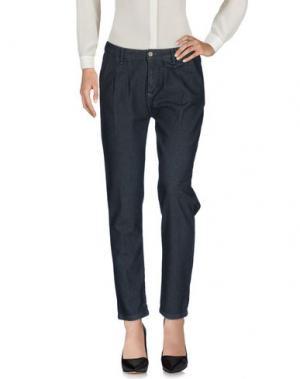 Повседневные брюки ECO. Цвет: свинцово-серый