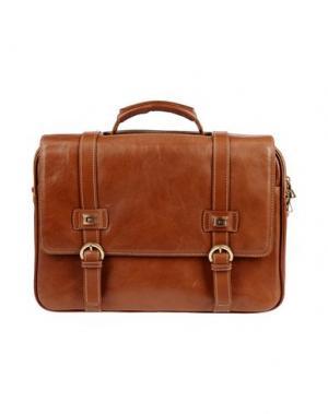 Деловые сумки GIUDI. Цвет: коричневый