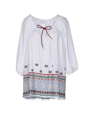Блузка OTTOD'AME. Цвет: белый