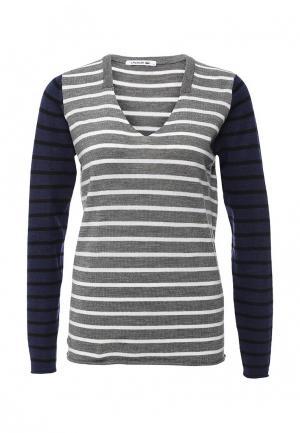 Пуловер Lacoste. Цвет: серый
