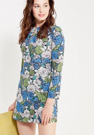 Платье oodji. Цвет: разноцветный