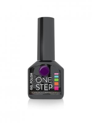 Однофазный гель-лак One Step №52, 6 мл GIORGIO CAPACHINI. Цвет: сливовый