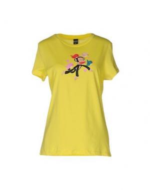 Футболка PAUL FRANK. Цвет: желтый