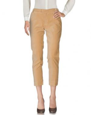 Повседневные брюки BAND OF OUTSIDERS. Цвет: верблюжий