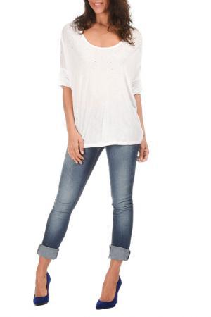 Блуза George Rech. Цвет: белый