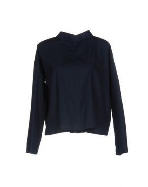 Блузка DANOLIS. Цвет: темно-синий