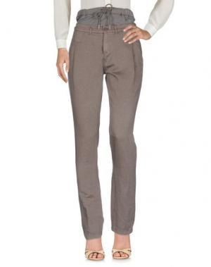 Повседневные брюки BOSS ORANGE. Цвет: хаки
