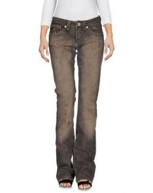 Джинсовые брюки TOY G.. Цвет: серый