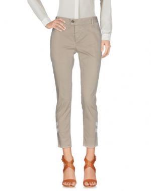 Повседневные брюки MAURIZIO MASSIMINO. Цвет: бежевый
