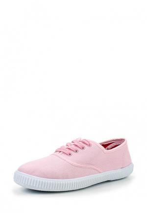 Кеды D.T. New York. Цвет: розовый