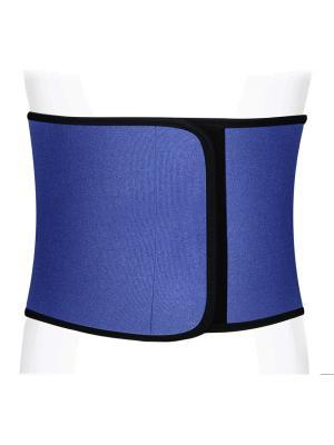 Корсет корригирующий для похудения Ttoman. Цвет: темно-синий