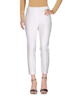 Повседневные брюки TY-LR. Цвет: белый