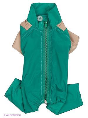 Комбинезон холодный на шелке (Чихуахуа) ТУЗИК. Цвет: зеленый