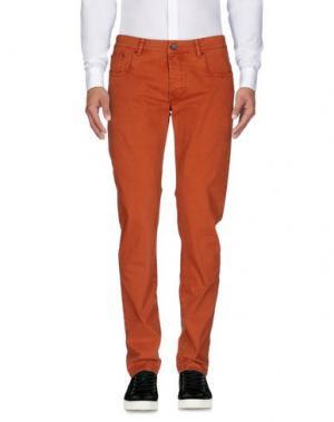 Повседневные брюки CAMOUFLAGE AR AND J.. Цвет: ржаво-коричневый