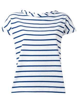 Striped T-shirt Semicouture. Цвет: белый