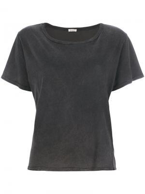 Классическая приталенная футболка Masscob. Цвет: серый