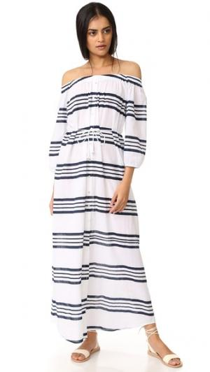 Макси-платье Sun FAITHFULL THE BRAND. Цвет: полосатый принт гоа