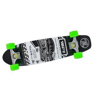 Скейт мини круизер  Motel Pool Cruiser Black/Green 29.25 (74.3 см) Z-Flex