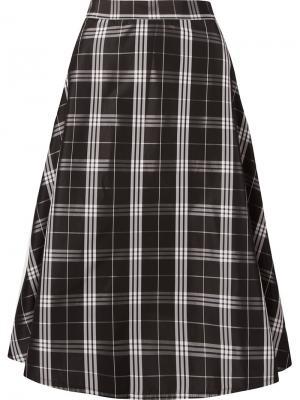 Midi A-line skirt Vitorino Campos. Цвет: чёрный