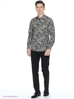 Рубашка Barkland. Цвет: серый