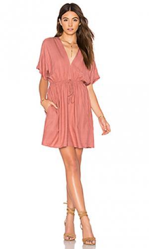 Мини платье capri Rails. Цвет: rose
