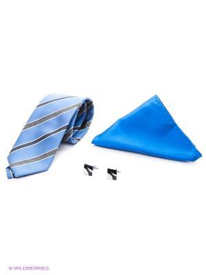 Набор Alex DANDY. Цвет: голубой, бежевый, белый, синий, черный