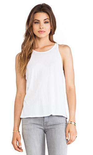 Майка tissue jersey Enza Costa. Цвет: белый