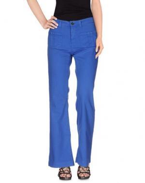 Джинсовые брюки SWILDENS. Цвет: ярко-синий