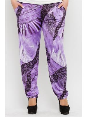 Брюки Lady Di. Цвет: фиолетовый