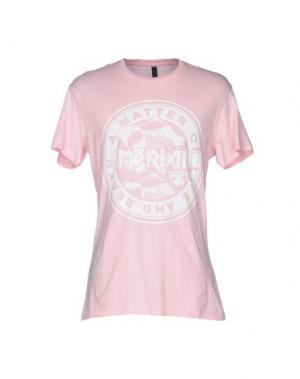 Футболка IMB I'M BRIAN. Цвет: розовый