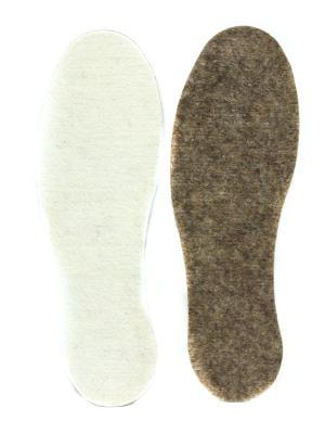 Стельки комфорт Eleon. Цвет: белый, темно-коричневый