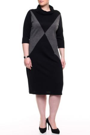 Платье Krizia. Цвет: серый, черный